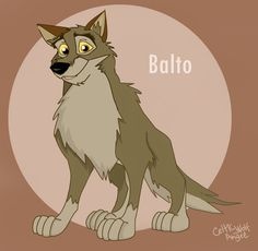 Balto. My favorite animated character EVER