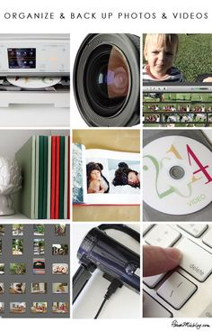 How to organize and back up photos and videos - I have pictures on so many computers.  I really need to get a handle on this!!