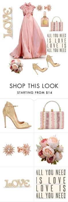 """""""Untitled #390"""" by belinda54-1 ❤ liked on Polyvore featuring Gianvito Rossi, Alexander McQueen, Kenza Lee, Lenox, Sugarboo Designs and Tom Ford"""