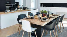 Scandinavien classic kitchen design with ALESSI Sense by Oras kitchen faucet 8720F