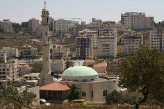 Ramallah, Palestine  I see my friend's apartment!!!