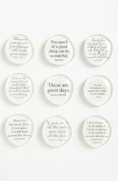 Ben's Garden 'Script Quote - Superstrong™' Magnets | Nordstrom
