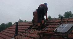 Wrong way to remove chimney