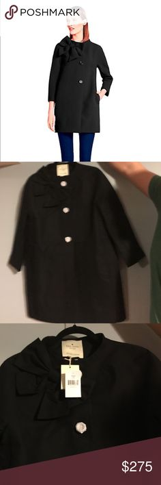 Kate Spade Fashion Kendall Coat Brand new !!! NEVER BEEN WORN. Beautiful coat. kate spade Jackets & Coats