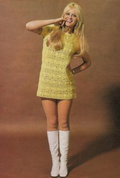 Crochet PAttern Ultra Mini Dolly Dress - want to make this is navy