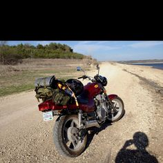 Motorcycle camping - I'd love to do this one day soon.