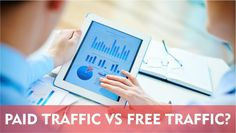 Paid Traffic Versus Free Traffic! Which Is Best? #WebTraffic #SEO #PPC #InternetMarketing #WeblinkIndia