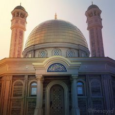:::: ✿⊱╮☼ ☾  PINTEREST.COM christiancross ☀❤•♥•* ::::   Small Mosque in Chechnya