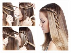 Romantic Side Braided Hairstyle Tutorial