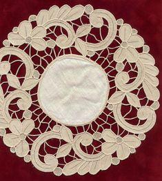 Resultado de imagem para (1195) Gallery.ru / Фото #3 - Embroidery richelieu - herbs