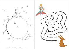 Fazendo a Nossa Festa - Colorir: Pequeno Príncipe