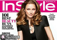 Emily VanCamp Talks Childhood & Josh Bowman in InStyle Australia April 2014 | GossipCenter - Entertainment News Leaders