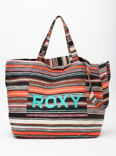 Roxy Sewn Up Purse - This bag would be great to take to the beach or to carry my art kit to class.