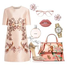 """Pastel pastel"" by jost-julia on Polyvore featuring STELLA McCARTNEY, Prism, Gucci, Christian Louboutin, Lime Crime, Chanel and Rolex"