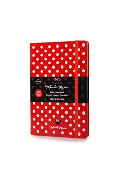 Super cute! Buy Moleskine Minnie Mouse Notebook (Limited Edition) - Large (13x21cm) - Hard Cover - Plain - Red - NoteMaker Stationery