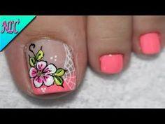 Nail Art Designs, New Nail Art Design, Pedicure Designs, Pedicure Nail Art, Toe Nail Art, Manicure, Fall Toe Nails, Pretty Toe Nails, French Nails