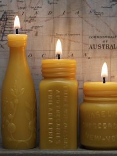 Pollen Arts Beeswax Candles  --Can't live without!!!   Made with PRIDE here in the USA