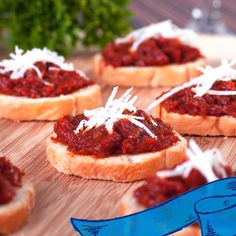 Try this Olive & Sun-Dried Tomato Spread at your next holiday party