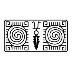 Татуировка у американских народов служила не только украшением, но и знаком племени, рода, тотема, указывала социальную принадлежность ее обладателя, а кроме того, наделялась определенной магической силой.