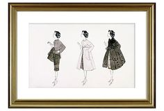 Andy Warhol, Three Fashion Figures on OneKingsLane.com