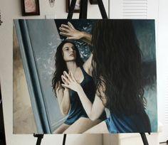"lenadanya:  ""Fragments of the Subconscious""Oil on canvas 2012"