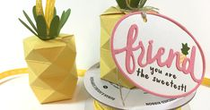 Hi everyone. Today I'm sharing my Pineapple Treat Boxes that I made a few weeks ago, for my demonstrator friends at OnStage: London, ON. C...