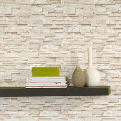 Un trompe-l'oeil naturel et authentique ! Cet intissé PAREMENT orne vos murs de magnifiques briques de couleur beige pierre. Le résultat est très réaliste et transforme votre espace en un lieu à la fois chaleureux, accueillant et très lumineux.