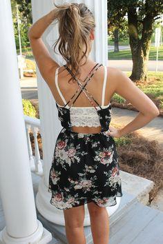 Take Me Away With You Dress