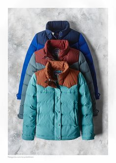 The Women's Bivy Down Jacket - this quilted jacket of nylon canvas is wind and water resistant and insulated with 100% 600-fill-powered recycled down reclaimed from used down products.
