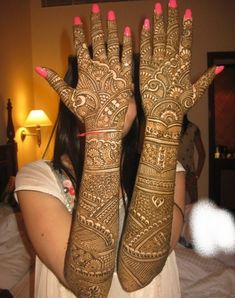 bridal mehndi designs with stones - Google Search