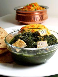 If you love Palak Paneer then you'll love this.   Palak Da Saag | Palak with Tofu Recipe #glutenfree #vegan #recipes
