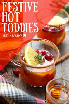 Festive Hot Toddies