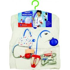 Doctor Costume for Kids on Yellow Octopus  #kriskringle #doctor #costume #kids