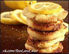Лимонной печенье на кефире