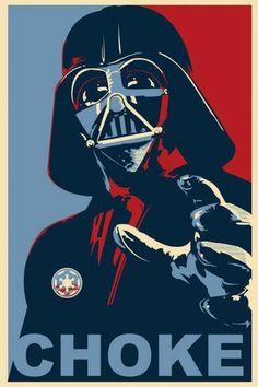 Star Wars - Darth Vader It's a nice arty-choke. Star Wars Darth, Star Trek, Star War 3, Star Wars Poster, Star Wars Humor, Love Stars, Art Graphique, Cultura Pop, Art Journals
