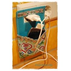 Sew phone holder