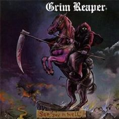 Grim Reaper - New Wave of British Heavy Metal originals looked set for lift off with and success in America until it all went wrong....shame.