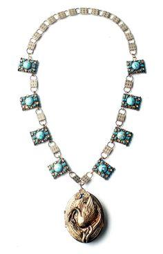Victorian Swan Locket Swan, Art Decor, Jewelry Design, Victorian, Antiques, Bracelets, Antiquities, Swans, Antique