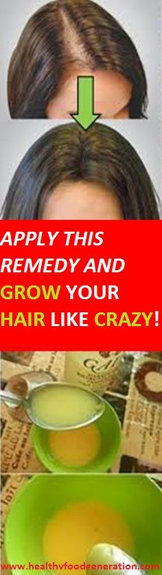Grow Hair With These Home Remedy That Even The Doctors Did Not Know - Healthy Food Generation