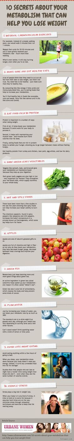 10 Secrets About Your Metabolism