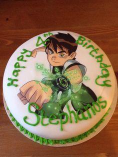 A Ben 10 Cake