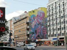 (1) #toiminmuraalinvartijana - Twitter-haku / Twitter Mural Wall Art, Urban Art, Finland, Street Art, Twitter, Photography, Travel, City Art, Photograph