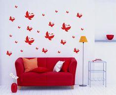 Adesivos decorativos para a sala - http://www.dicasdecoracao.com/adesivos-decorativos-para-a-sala/