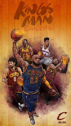 ARTIST: MinSuk Kim 김민석 (Korea) |  via: #Yellowmenace |  ● See all 48+ NBA Basketball Artworks @ http://blog.yellowmenace.net/2017/04/nba-basketball-art-collection.html | #NBA #basketball #fanart #poster #art #LebronJames #Cavs