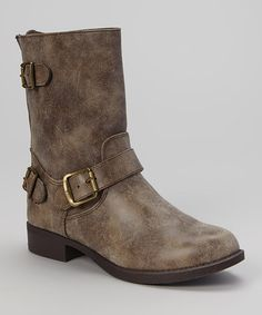 Taupe Wagon Boot | Something special every day