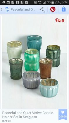 Votive collection . ... modcloth