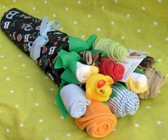Bouquet for baby shower
