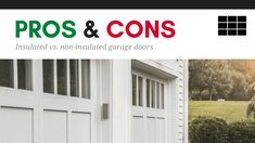 The most commonly-asked questions when shopping for a new garage door are about insulation. Here's everything you need to know before making a purchase decision.
