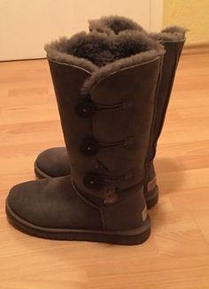 Kaufe meinen Artikel bei #Kleiderkreisel http://www.kleiderkreisel.de/damenschuhe/stiefel/139476841-ugg-boots-grau-np-ca-300
