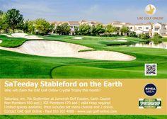 UAE Golf: UAE Golf Online SaTeeday Stableford on the Earth Course at Jumeirah Golf Estates #dubai #golf #uae #jumeirah